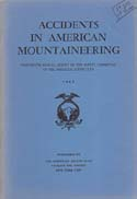 Accidents in North American Mountaineering 1960: American Alpine Club (AAC).