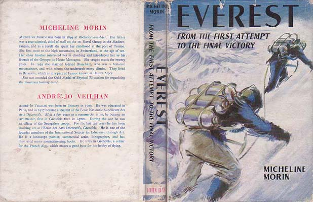 Everest: From the First Attempt the Final Victory: Morin, Micheline