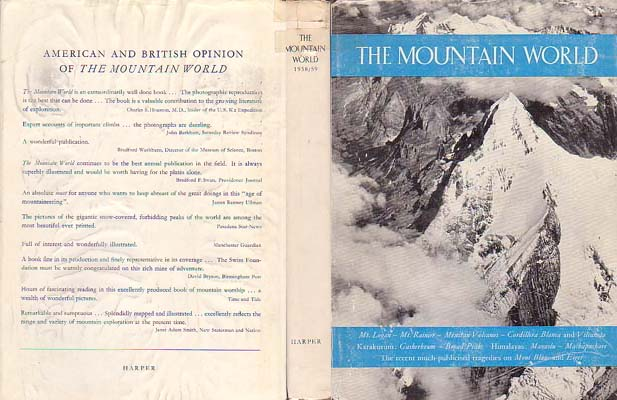 Mountain World 1958/59: Swiss Foundation for Alpine Research