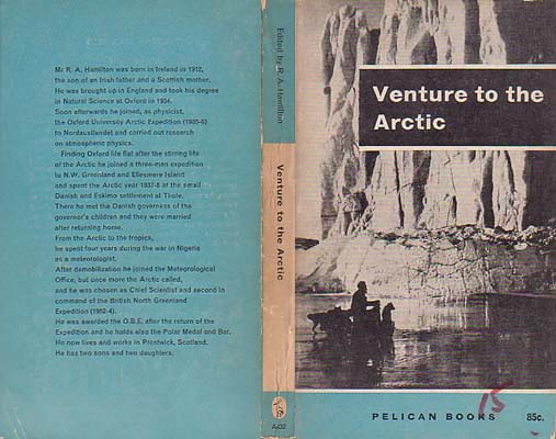 Venture to the Arctic: Hamilton, R. A. ed.