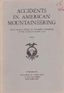 Accidents in North American Mountaineering 1956: American Alpine Club (AAC).