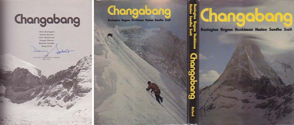 Changabang: Bonington, Chris, Doug Scott, et al.
