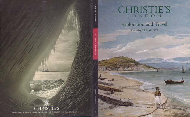 Christie's Exploration & Travel Auction Catalogue: [Antarctic/Arctic]