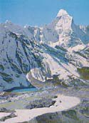 1980 Postcard New Zealand Ama Dablam Expedition: Ama Dablam