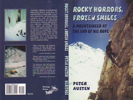 Rocky Horrors, Frozen Smiles: A Mountaineer at the End of his Rope: Austen, Peter
