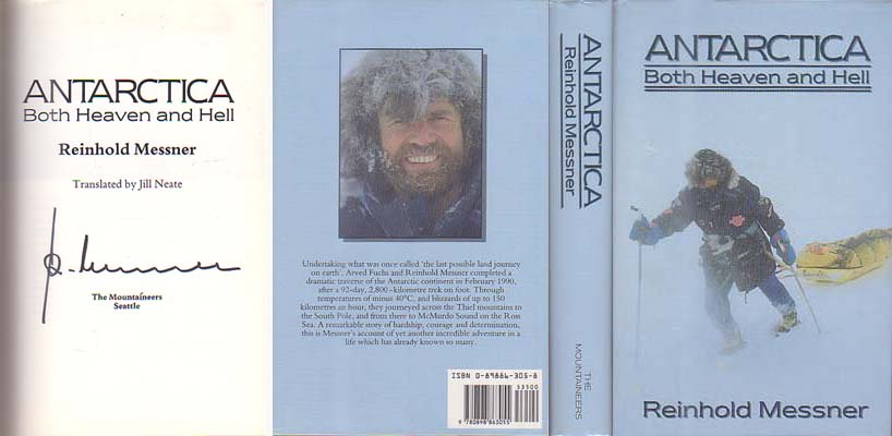 Antarctica: Both Heaven and Hell: Messner, Reinhold