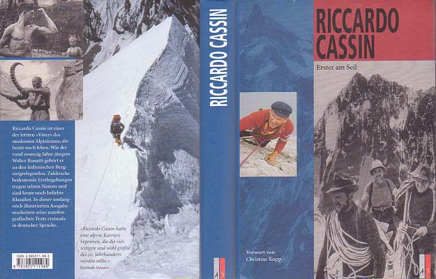 Erster am Seil [First on the Rope]: Cassin, Riccardo