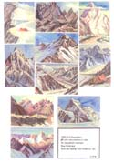 Third American Karakoram Expedition 1953 Print Set: Molenaar, Dee