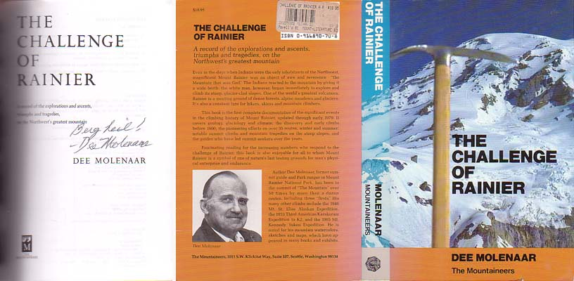 The Challenge of Rainier: Molenaar, Dee