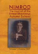Nimrod: The Journal of the Ernest Shackleton Autumn School. Vol 1: [Shackleton]