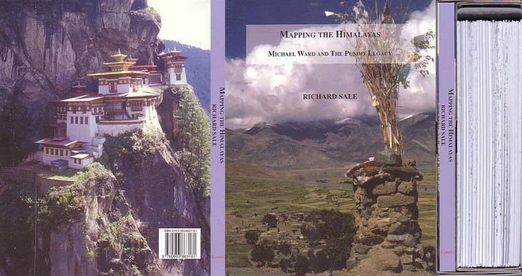 Mapping the Himalayas: Michael Ward and the Pundit Legacy: Sale, Richard