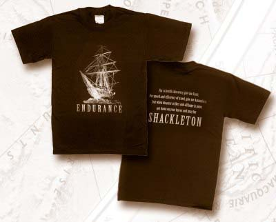 Shackleton Endurance Ship at Night T-Shirt - Extra Large: [Shackleton].