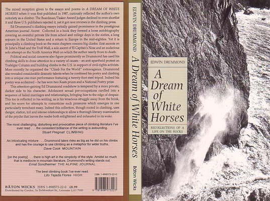 A Dream of White Horses: Recollections of a Life on the Rocks: Drummond, Edwin