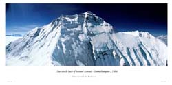 The North Face of Mount Everest – Chomolungma, Tibet: Webster, Ed