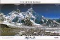 Color Postcard Everest Stephen Venables: Everest