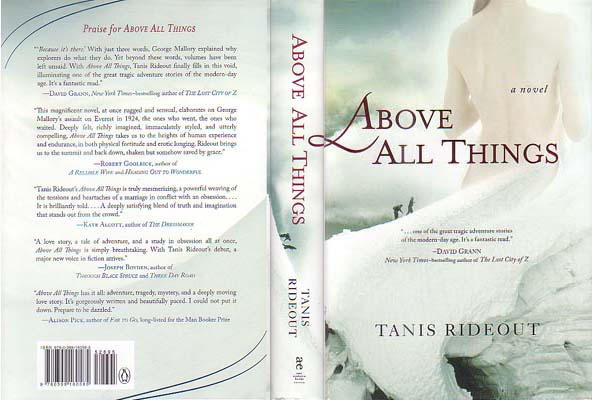 Above All Things: Rideout, Tanis