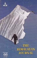 The Himalayan Journal 2010 (Vol. 66): Himalayan Club
