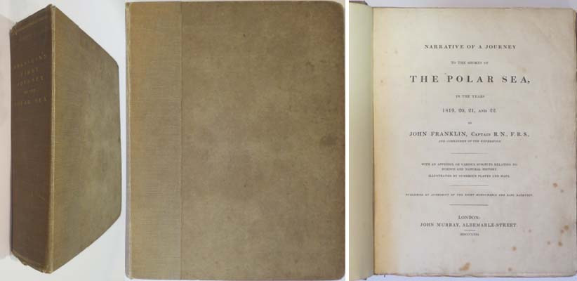 Narrative of a Journey to the Shores of the Polar Sea, in the Years 1819-20-21-22: Franklin, Capt. John