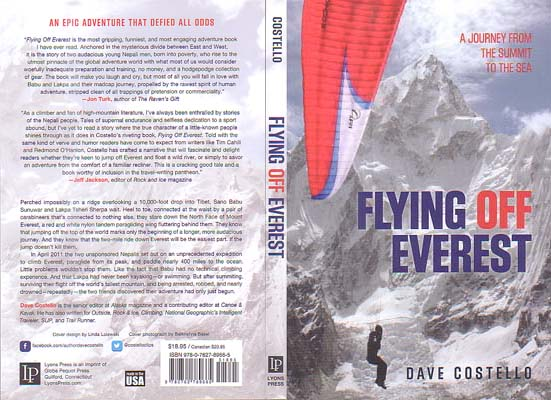 Flying Off Everest: A Journey from the Summit to the Sea: Costello, Dave