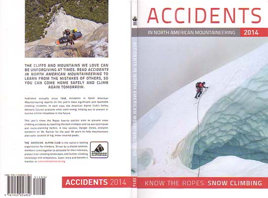 Accidents in North American Mountaineering 2014: American Alpine Club (AAC)