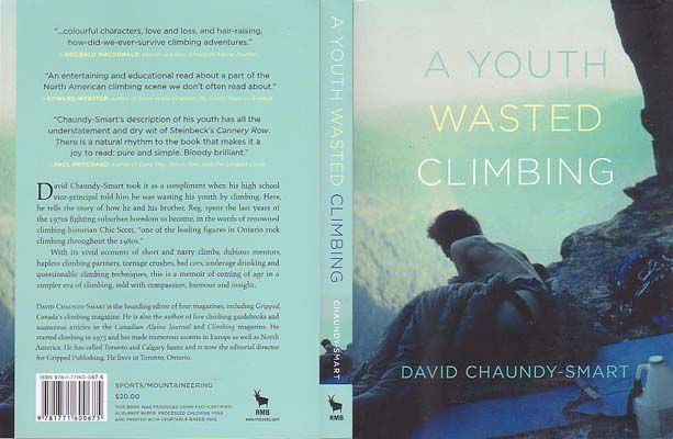 A Youth Wasted Climbing: Chaundy-Smart, David