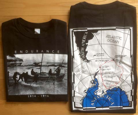 Shackleton Endurance Map T-Shirt - Small: [Shackleton].