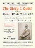 "The Story of the ""Quest"" will be told by …: Wild, Frank"