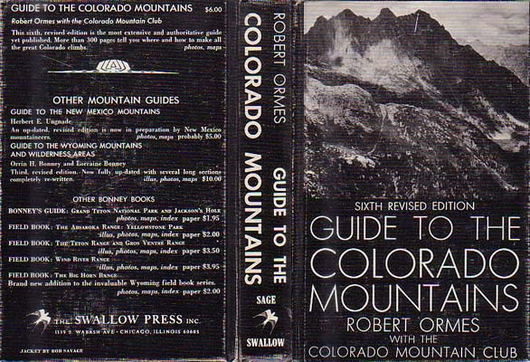 Guide to the Colorado Mountains: Ormes, Robert M., ed.