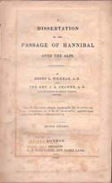 A Dissertation on the Passage of Hannibal over the Alps: Wickham, Henry L. & Rev. J. A. Cramer
