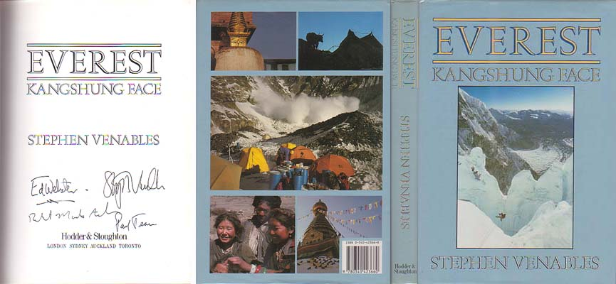 Everest: Kangshung Face: Venables, Stephen