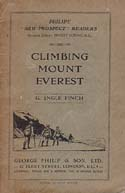 Climbing Mount Everest: Finch, George Ingle