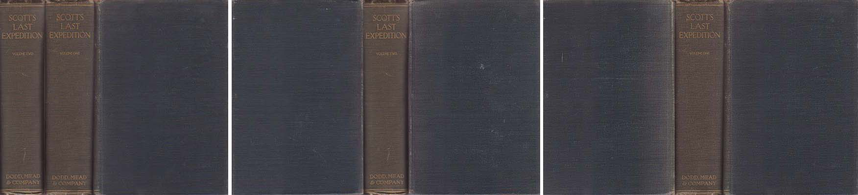 Scott's Last Expedition: In Two Volumes Vol. I. Being the Journals of Captain R. F. Scott, R. N., C. V. O. Vol. II. Being the Reports of the Journeys and the Scientific Work Undertaken by Dr. E. A. Wilson and the Surviving Members of the Expedition: Scott, Robert Falcon