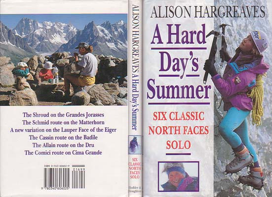 A Hard Day's Summer: Six Classic North Faces Solo: Hargreaves, Alison