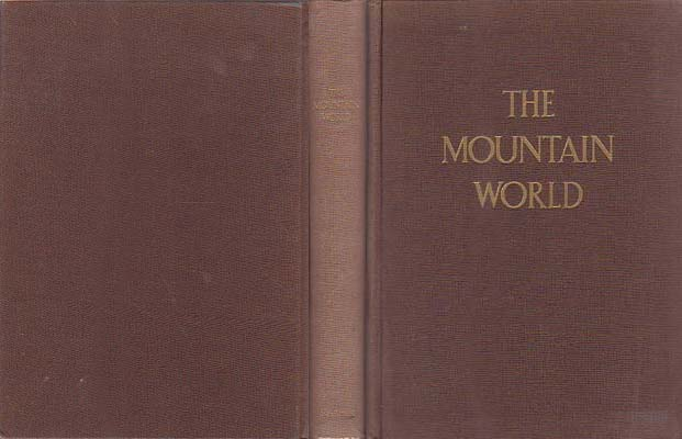 Mountain World 1953: Swiss Foundation for Alpine Research